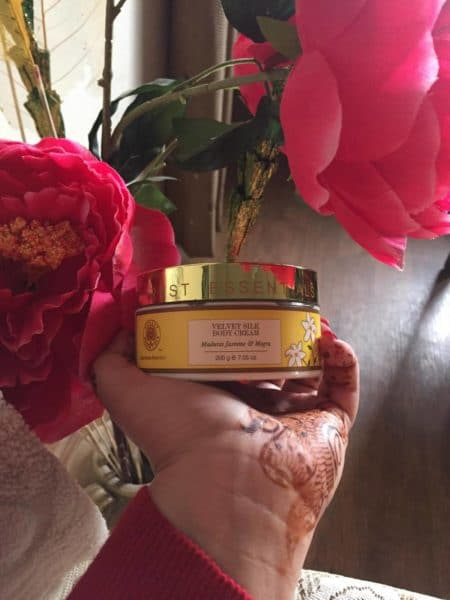 Forest Essentials Velvet Silk Body Cream Review