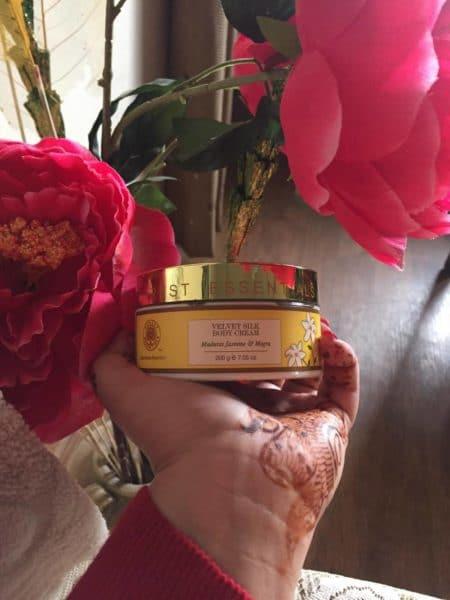 Forest Essentials Velvet Silk Body Cream Review