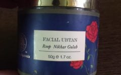 Forest Essentials Roop Nikhar Gulab Ubtan Review