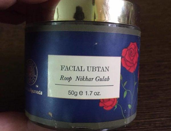 Forest Essentials Roop Nikhar Gulab Ubtan Review