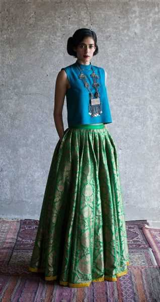 This Payal Khandwala creation screams style and class like nobody's business.