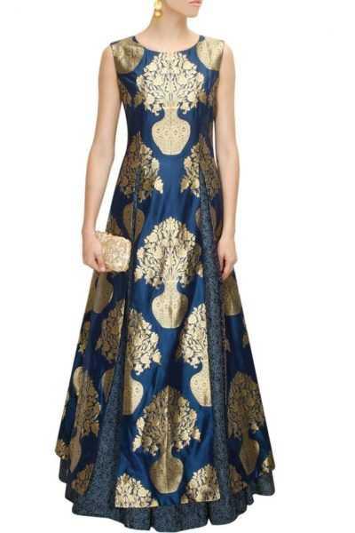Double Slit kurta with kurta making a bold style statement. Source - pernia'spopupshop.com