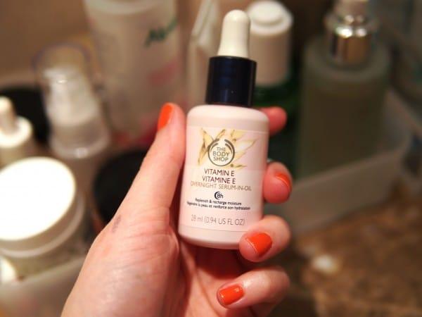 Vitamin E overnight serum by TBS Source - Pinterest Amrutha Bhaskar