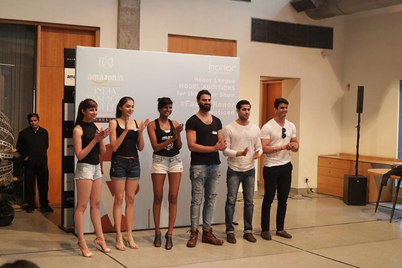 Honor top 6 selected candidates for amazon india Fashion week 2017