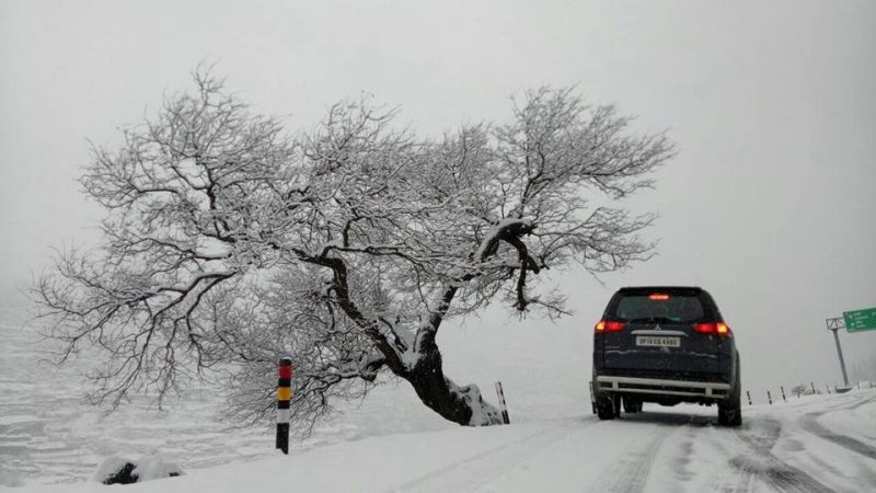 snow pictures in India