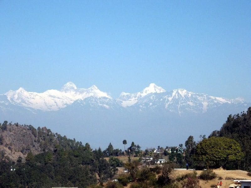 Valley view from Guma Mandir, Pithoragarh Source - trekearth.com