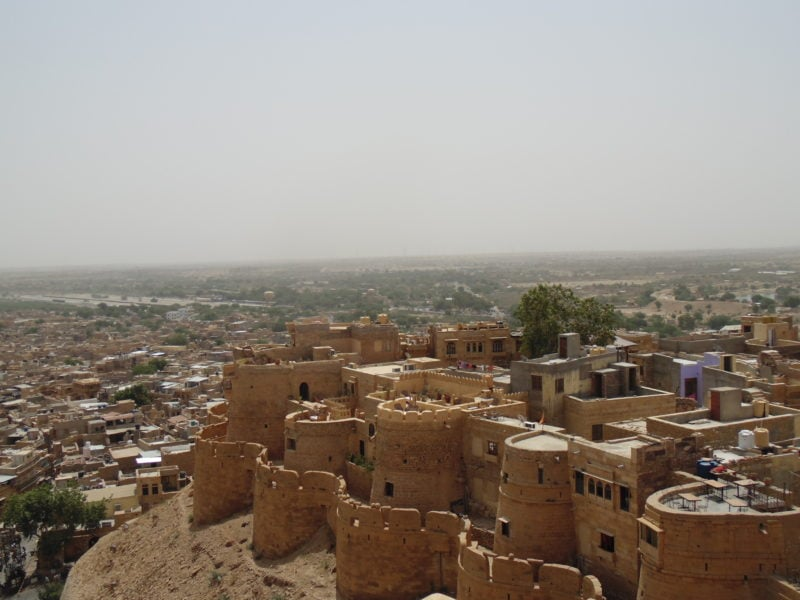 Top Forts in India places to see in Jaisalmer