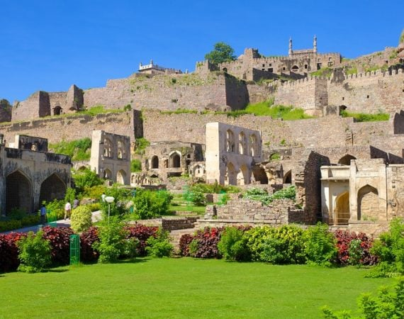 A visit to the city if Nizams is incomplete without visiting this beautiful fort. Source - expedia.com
