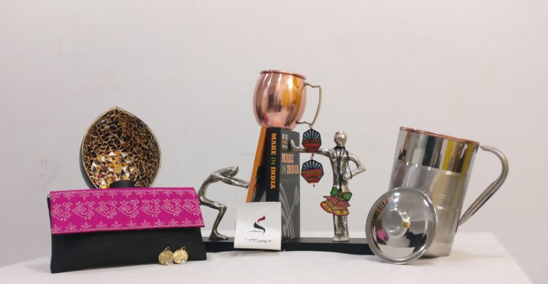 Craftkhana brass mugs