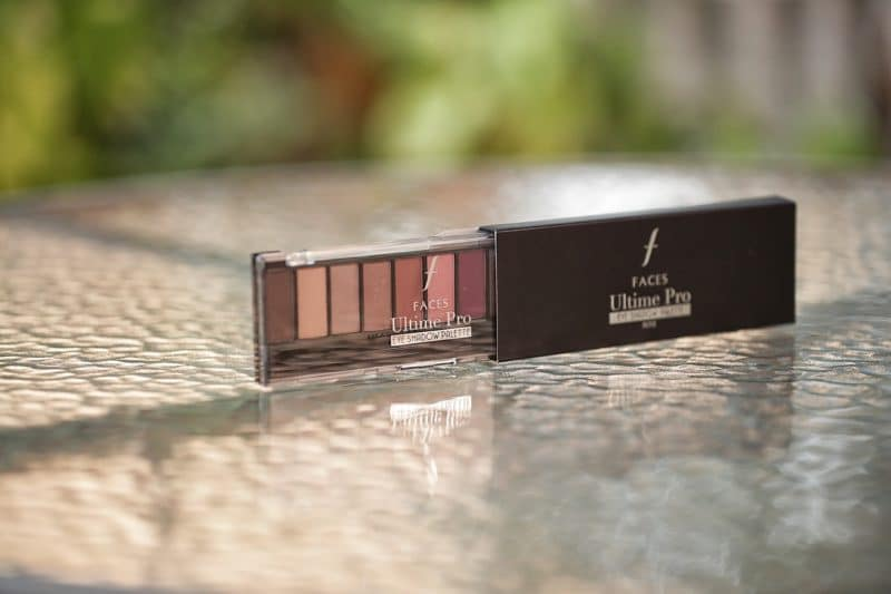 Faces Ultime Pro eye shadow palette