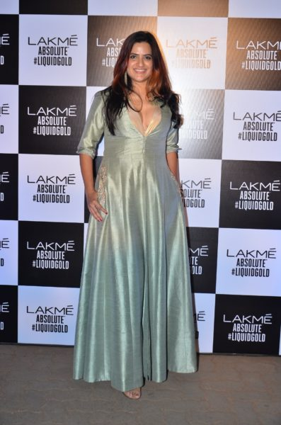 celebrities at Lakme Fashion week