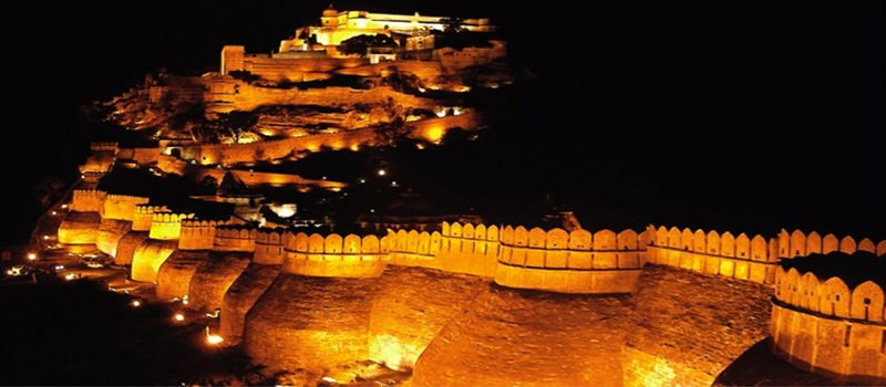 Kumbalgarh Fort Night