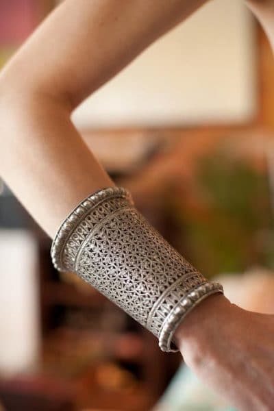 silver arm cuff jewellery trends