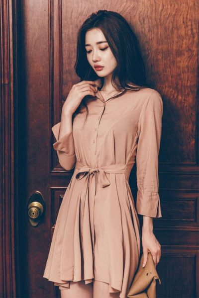 style tips for shirt dresses