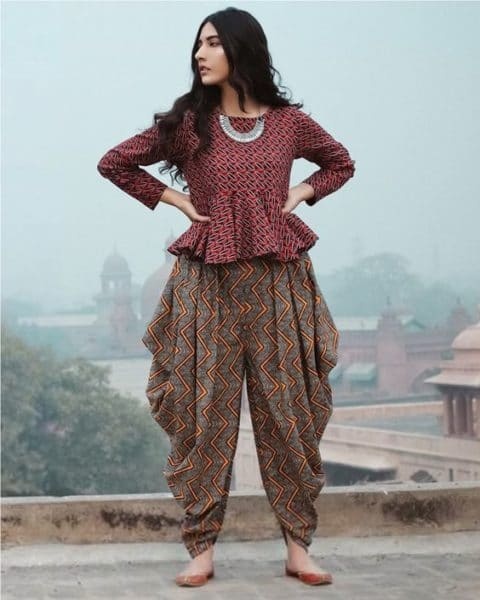 dhoti pants for summers