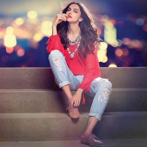 Deepika Padukone casual wear