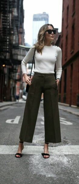 culottes outfit ideas
