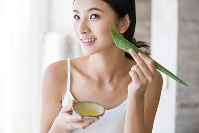 aloe vera face packs for glowing skin