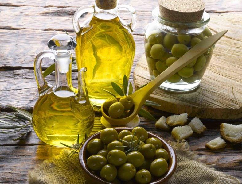olive oil face packs