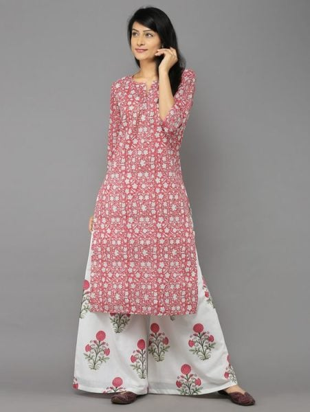 kurta with palazzos