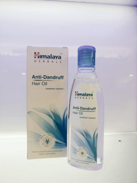 Himalaya Herbals Anti Dandruff oil review