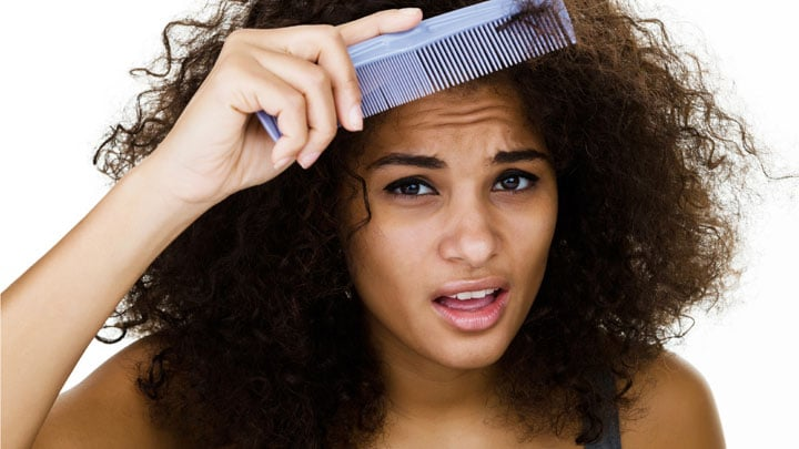 Prevent frizzy hair