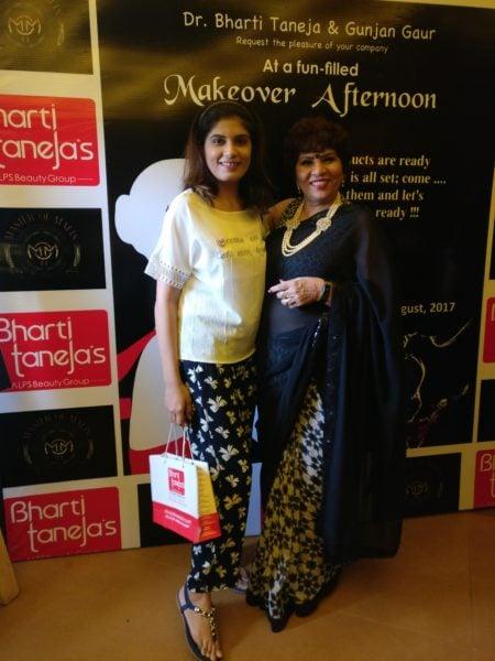 Tanya Virmani with Bharti Taneja