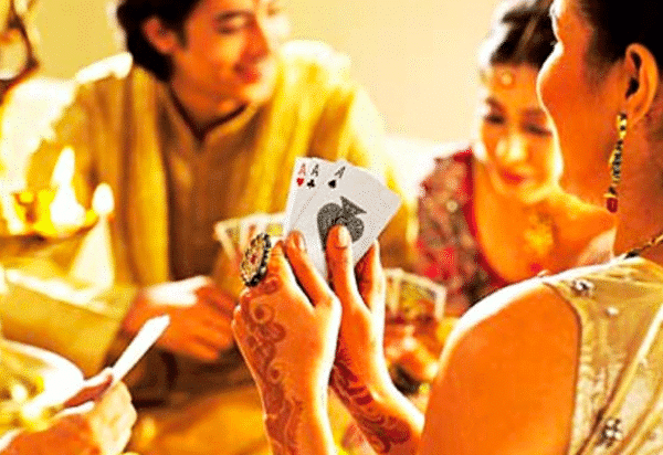 what to wear for card parties during Diwali