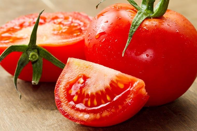 tomato for blackheads