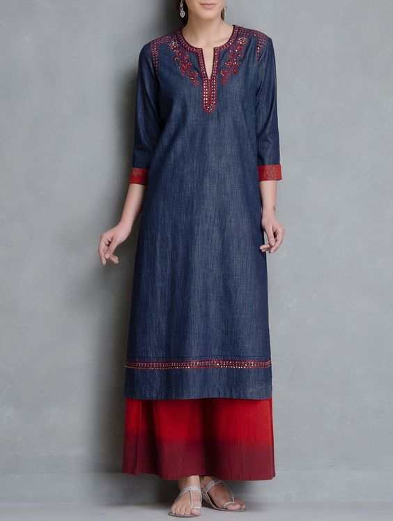5 ways to wear kurtis this winter