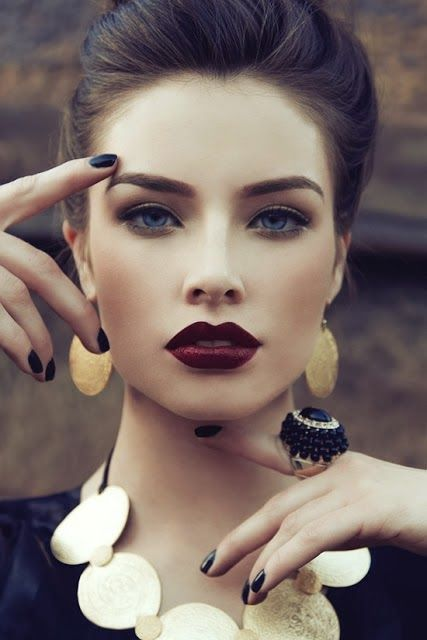 dark lip colors for winter