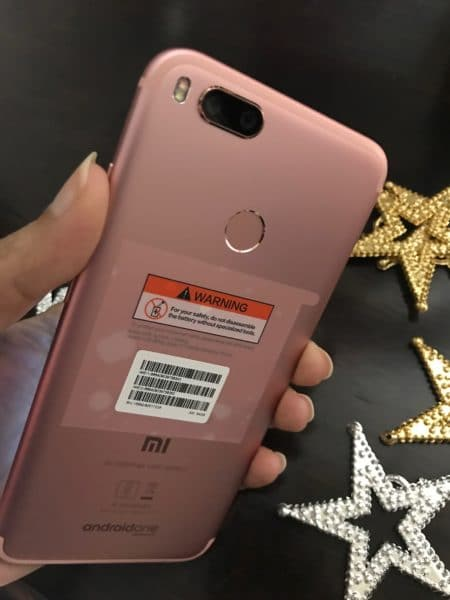 Xiaomi Mi A1 Rose Gold review