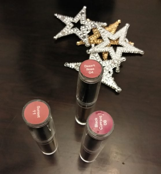 FACES Canada Glam On Velvet Matte lipstick review