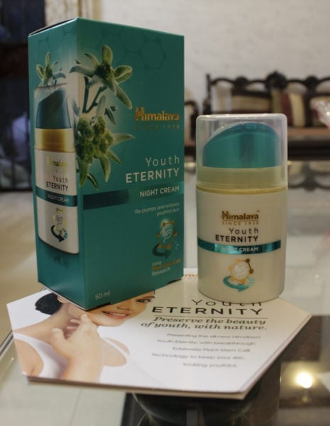 Himalaya youth eternity night cream review