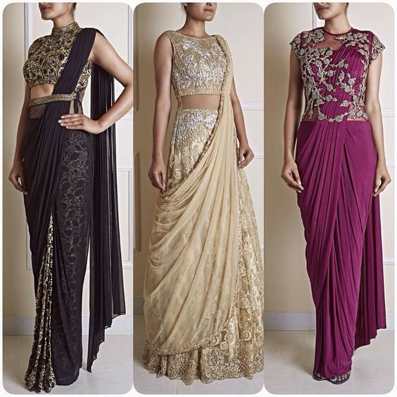 indo wester party outfits
