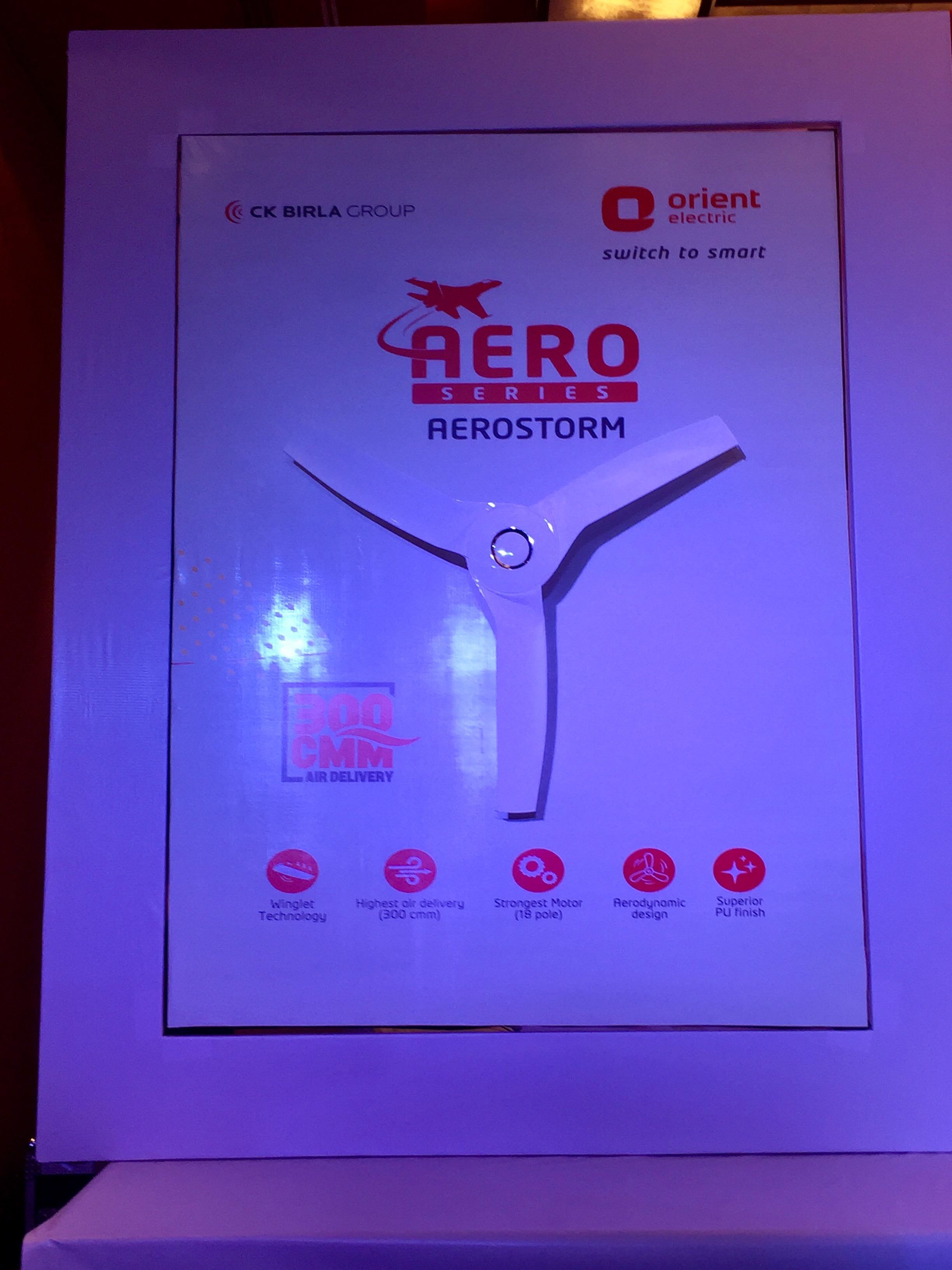 Orient AeroStorm Fan