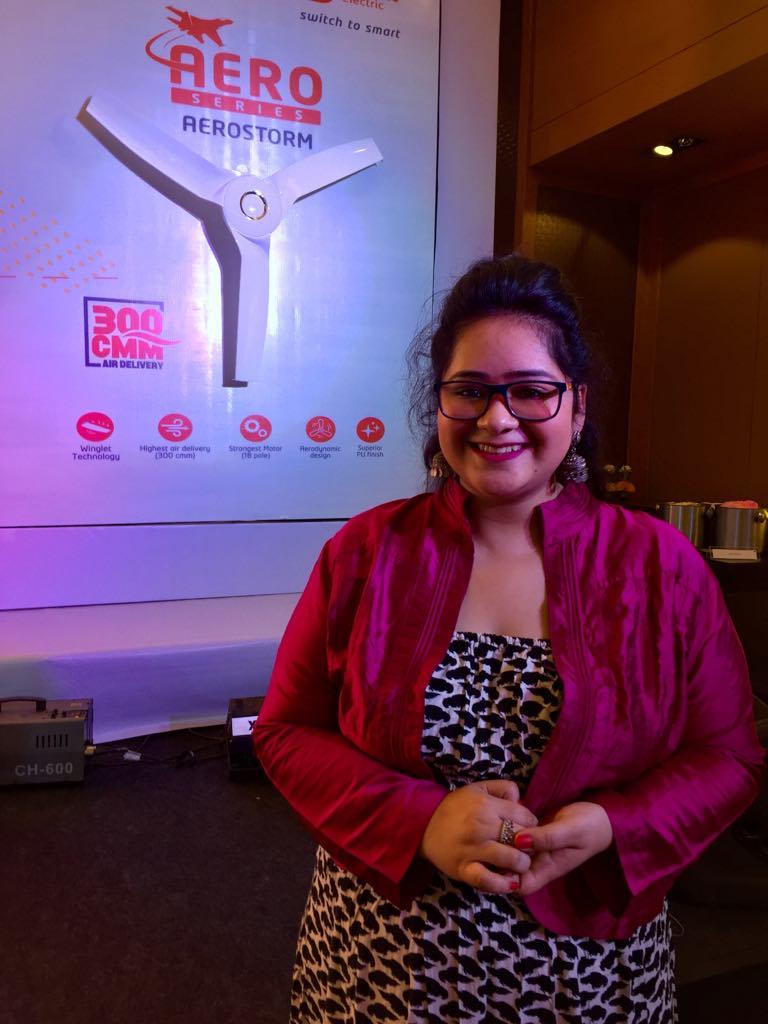 Orient fan launch event Delhi