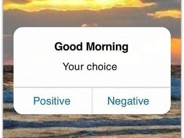 how to be optimistic person