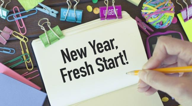 how to stick to your ne year resolutions