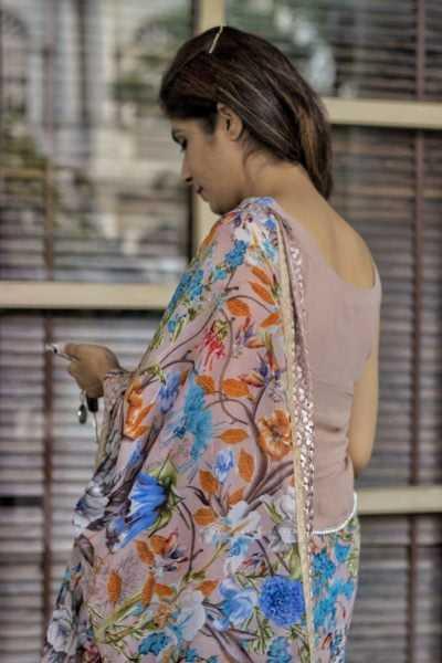 sari blouse style