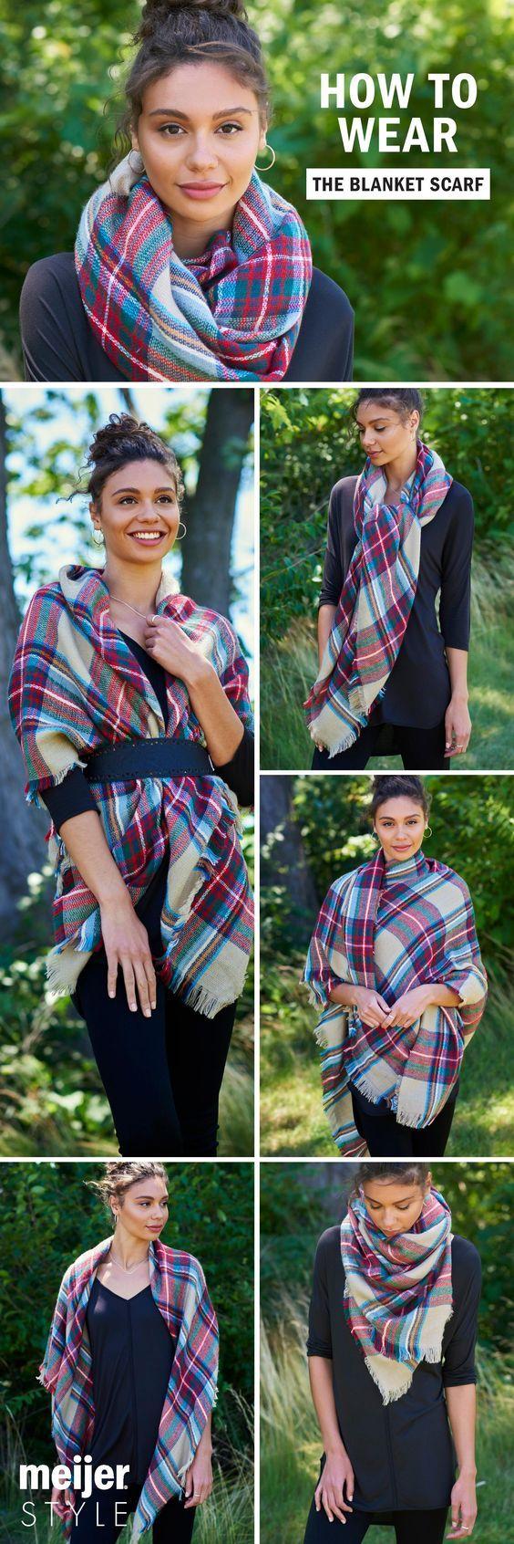 scarf draping
