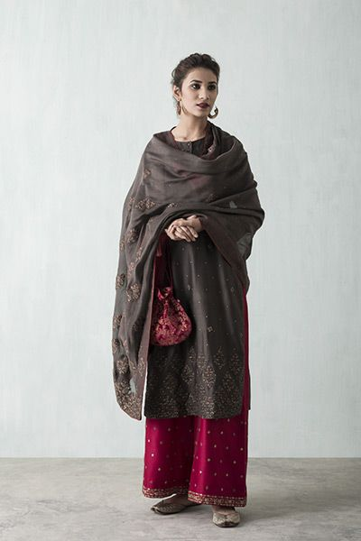 ways to drape dupatta