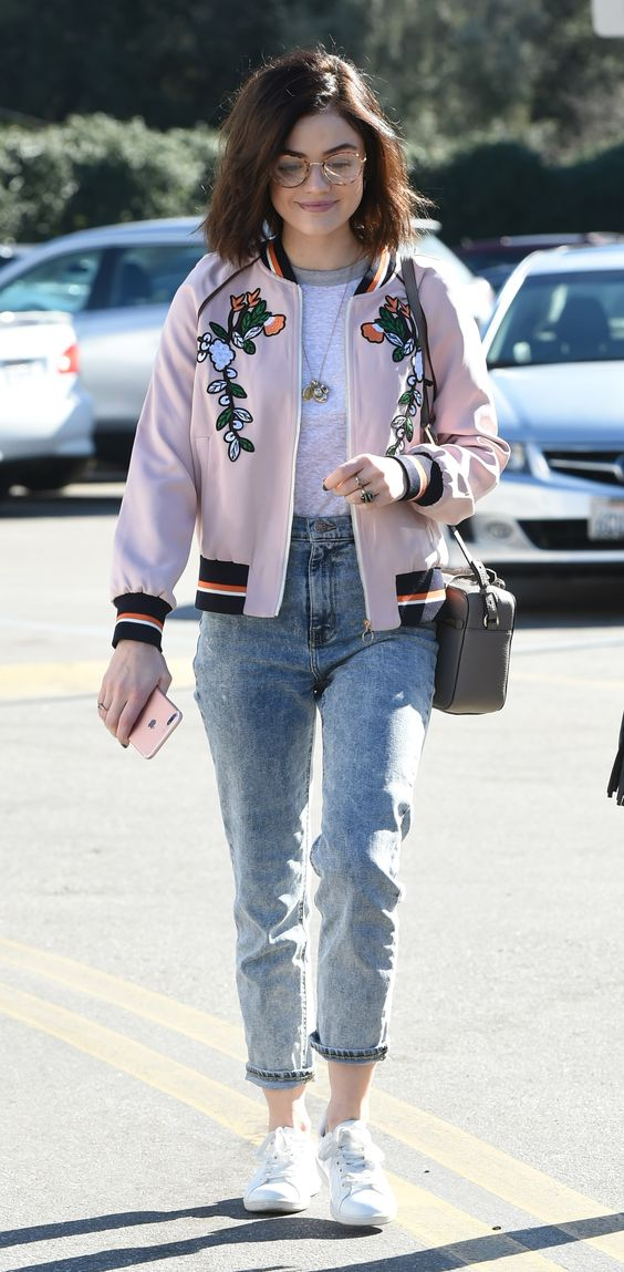 bomber jacket outfit ideas