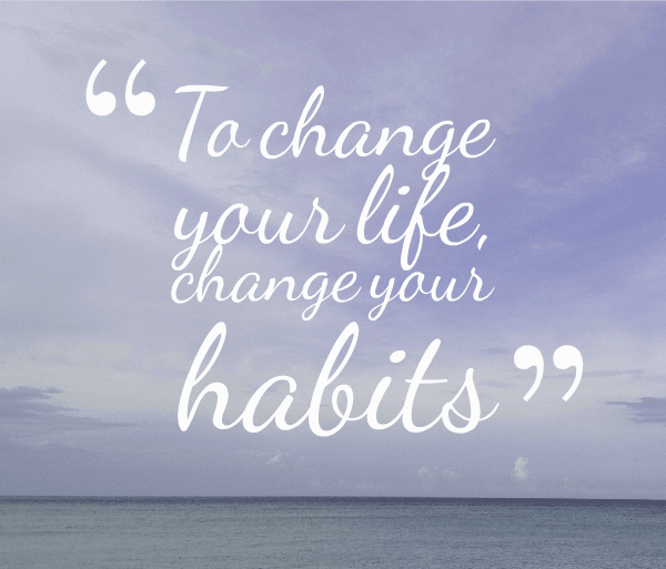 tips to get rid of a bad habit
