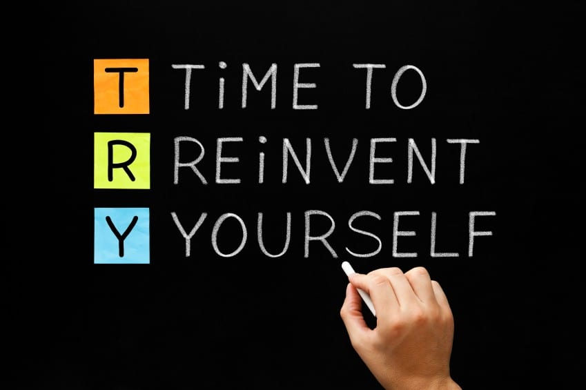 Reinvent yourself in 30s