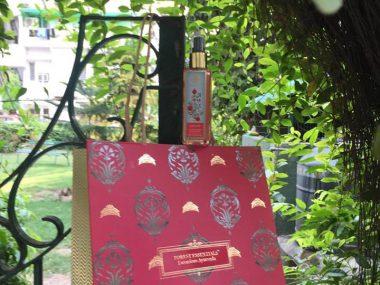 Forest Essentials rose mist