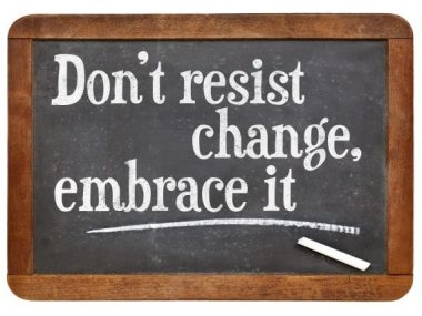 embrace change in workplace