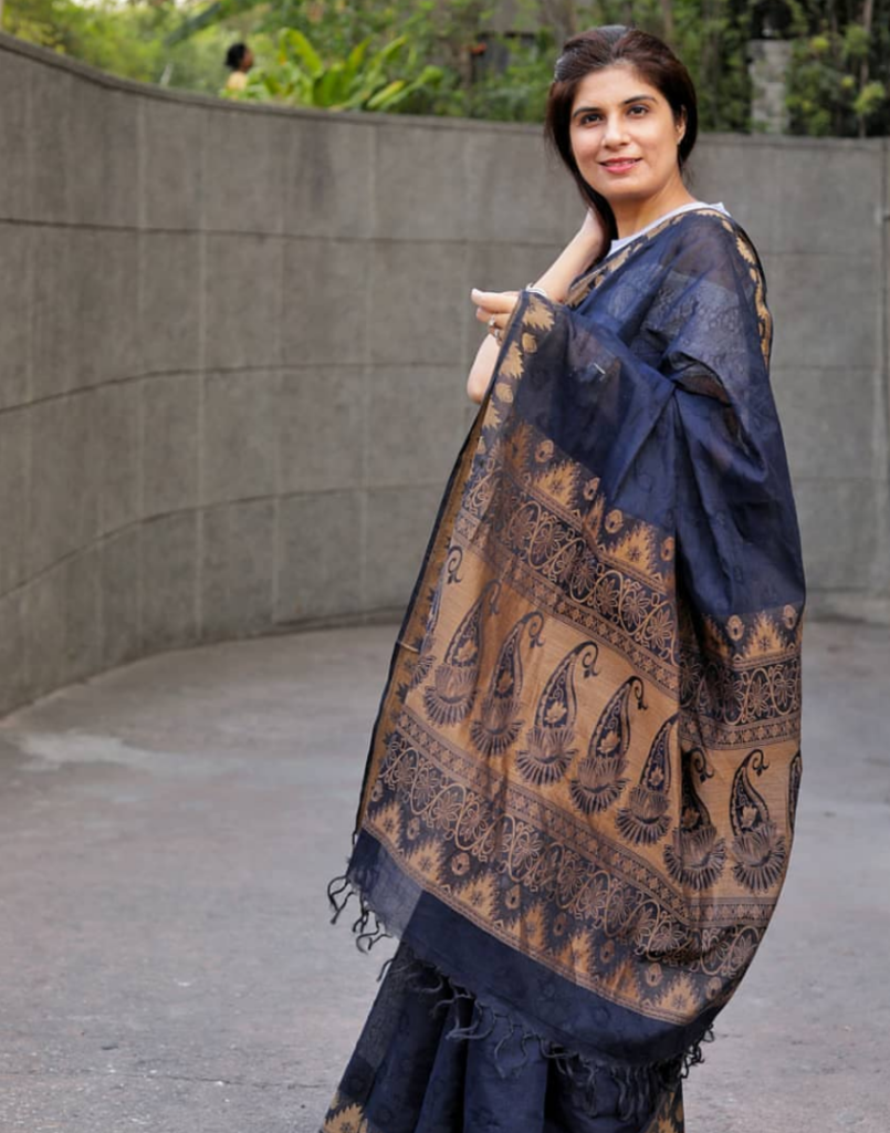 upcycling saris to kurta