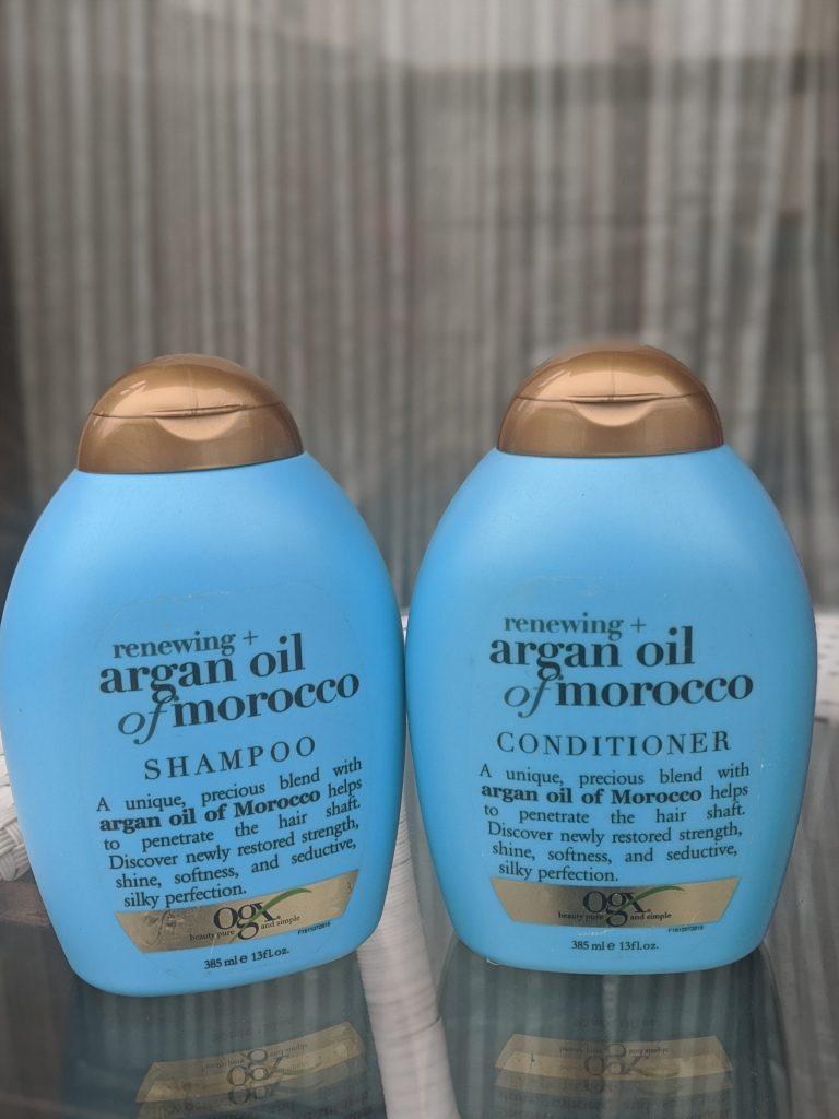 ogx shampoo Argan oil review