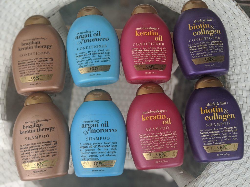 OGX shampoo conditioner review